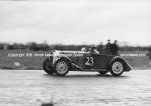 Morgan 4/4 J Sparrowe At Castle Combe 1951 (B)